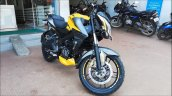 Bajaj Pulsar Ns200 Abs Yellow Right Front Quarter
