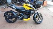 Bajaj Pulsar Ns200 Abs Yellow Right Side