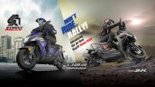 Yamaha Ray Zr Street Rally Ubs Launched