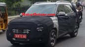 Hyundai Styx Front Three Quarters Spy Shot India