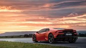 Lamborghini Huracan Evo Images Rear Three Quarters