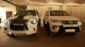 Modified Toyota Fortuner Front View With New Model
