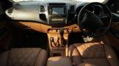 Modified Toyota Fortuner Interior Dashboard