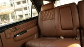 Modified Toyota Fortuner Interior Rear Seat