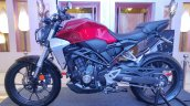 Honda Cb300r Side Profile Candy Chromosphere Red