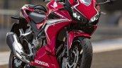 Honda Cbr400r Red Front Profile