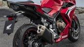 Honda Cbr400r Red Rear Quarter