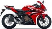 Honda Cbr400r Red Side Profile