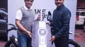 Bmw G 310 Gs Delivered To Sourav Ganguly With The