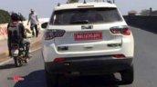 Jeep Compass Trailhawk Rear Spy Shot
