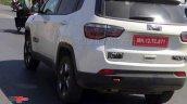 Jeep Compass Trailhawk Rear Three Quarters Spy Sho