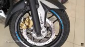 Bajaj Pulsar Ns200 Neon Graphics Blue Front Wheel