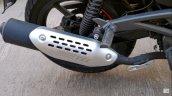 Bajaj Pulsar 180 Abs At Dealership Exhaust