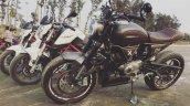 Bajaj Pulsar 180 Modified Into Ducati Scrambler Le