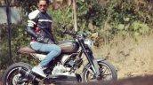 Bajaj Pulsar 180 Modified Into Ducati Scrambler Ri
