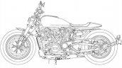 Harley Davidson Custom 1250 Patent Images Left Sid
