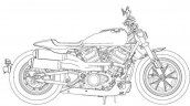 Harley Davidson Custom 1250 Patent Images Right Si