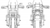 Harley Davidson Pan America Patent Images Front An