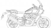 Harley Davidson Pan America Patent Images Right Si