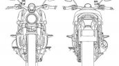 Harley Davidson Streetfighter Patent Images Front