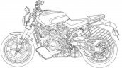 Harley Davidson Streetfighter Patent Images Left S