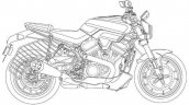 Harley Davidson Streetfighter Patent Images Right