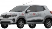 Renault Kwid Ev Front Three Quarters