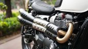 2019 Triumph Street Scrambler India Launch Exhaust