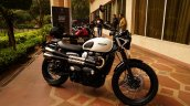2019 Triumph Street Scrambler India Launch Right S