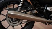 2019 Triumph Street Twin India Launch Exhaust