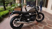 2019 Triumph Street Twin India Launch Right Rear Q