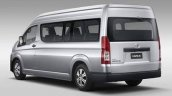 2019 Toyota Hiace Rear Three Quarters Left Side