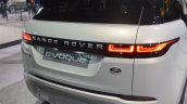 2019 Range Rover Evoque Rear Fascia At 2019 Chicag