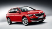 Eu Spec Skoda Kamiq Front Three Quarters Right Sid