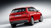 Eu Spec Skoda Kamiq Rear Three Quarters