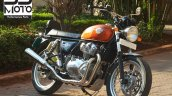 Royal Enfield Interceptor 650 2 In 1 Exhaust Front