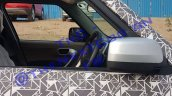 2019 Mahindra Tuv300 Facelift Interior Spy Shot