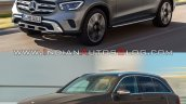 2019 Mercedes Glc Vs 2015 Mercedes Glc Front Three