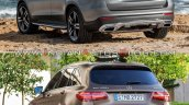 2019 Mercedes Glc Vs 2015 Mercedes Glc Rear Three