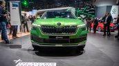 Skoda Kamiq Front At 2019 Geneva Motor Show