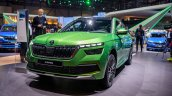 Skoda Kamiq Front Three Quarters At 2019 Geneva Mo