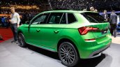 Skoda Kamiq Rear Three Quarters At 2019 Geneva Mot