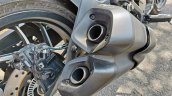 2019 Bajaj Dominar 400 Review Detail Shots Exhaust