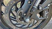 2019 Bajaj Dominar 400 Review Detail Shots Front D
