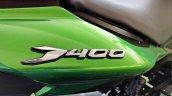 2019 Bajaj Dominar 400 Review Detail Shots Rear Pa