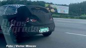 Next Gen Hyundai Hb20 Rear Fascia Spy Shot