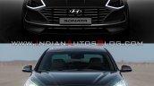 2019 Hyundai Sonata Vs 2017 Hyundai Sonata Front