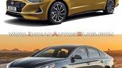 2019 Hyundai Sonata Vs 2017 Hyundai Sonata Front T