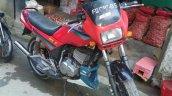 Restored 1990 Yamaha Rx Z By R Deena Pre Restorati