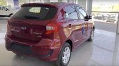 2019 Ford Figo Facelift Rear Three Quarters Spy Ph